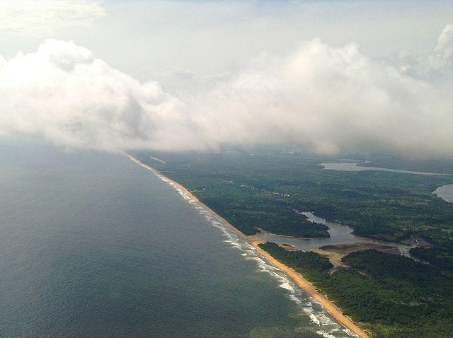 Liberia Coastal Beach